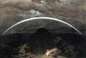 Caspar David Friedrich: Mountain landscape, 1810
